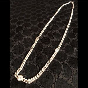 Jewelry - Sterling Silver and CZ Long Necklace
